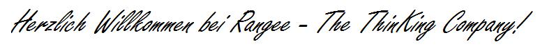 Herzlich Willkommen bei Rangee - The ThinKing Company